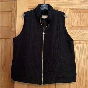 Michael Kors black puffer vest